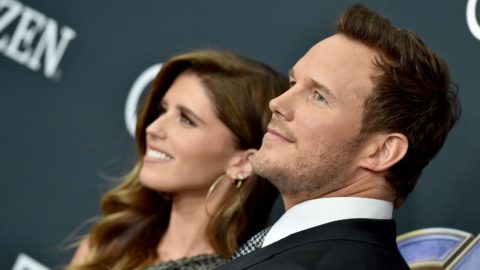 LOS ANGELES, CALIFORNIA - APRIL 22: Katherine Schwarzenegger and Chris Pratt attend the World Premiere of Walt Disney Studios Motion Pictures 'Avengers: Endgame' at Los Angeles Convention Center on April 22, 2019 in Los Angeles, California. (Photo by Axelle/Bauer-Griffin/FilmMagic)